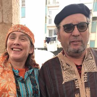 הבית של רויטל ויורם באשקלון: סיפורים על עדות המזרח וטעמים מהמטבח האלג'ירי